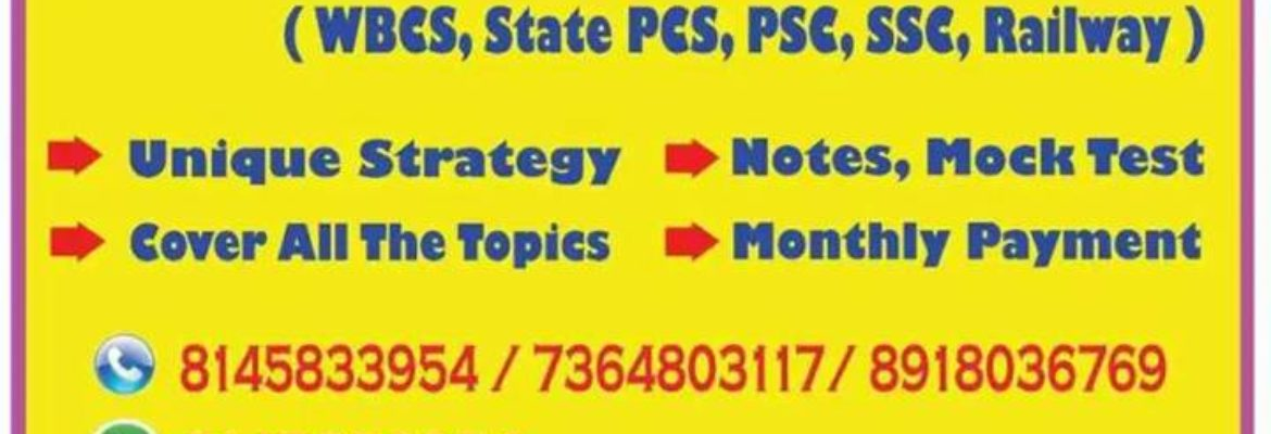 Make Your Career Institute of Competitive Exams